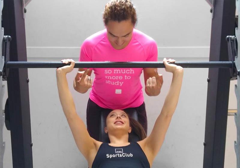 mac gym en fitness